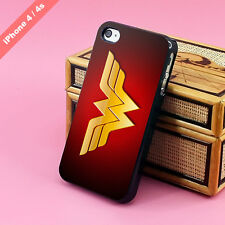 Wonder Woman logo symbol case cover for iphone 4 4s 5 5s 5c Nexus Samsung