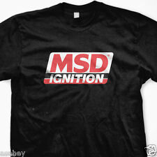 New MSD IGNITION Logo Custom Black T Shirt Tee S M L XL 2XL 3XL