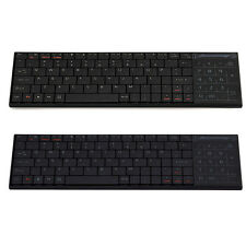 Ultra Slim 2.4G / Bluetooth Wireless Keyboard Touchpad for Laptop/PC/Notebook