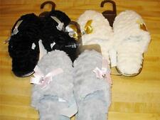 CHARTER CLUB Womens Scuff Slippers Choose Gray  White  Black  S  M  L  XL  NWT