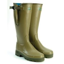 Mens Le Chameau Vierzonord wellies/wellington boot-new