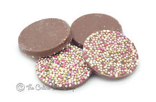 ALMA: CHOCOLATE DISC SHAPED CANDY SWEETS