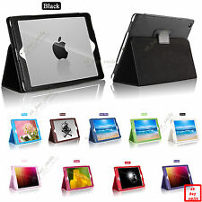 "Brand New UltraSlim PU Leather Smart Cover Case for Apple iPad Air 9.7"" Device"