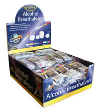 NEW DISPOSABLE ALCOHOL BREATHALYSER BREATHALIZER TEST KIT FRENCH NF APPROVED