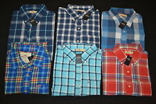 HOLLISTER MEN'S PLAID BUTTON-DOWN LONG SLEEVE FLANNEL SHIRT S M L XL