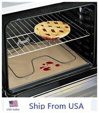 "LARGE  Non Stick Oven Liner  Teflon Oven or Pan Liner Baking Mat 16"" x 23"" USA"