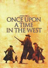 ONCE UPON A TIME IN THE WEST Movie Poster Spaghetti Western Bronson - Leone