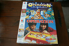 operation board game spares  money - cards - body parts - the body & metal sheet