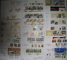 2008-2009 UNADDRESSED STUART FDCs WITH SPECIAL POST MARKS - EXCELLENT CONDITION