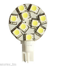 Anyray T10 921 194 10-5050 SMD LED Bulb lamp Super Bright Warm White DC 12V
