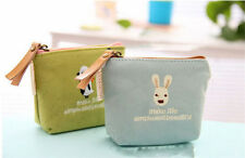 Womens Fashion Key Coin bag Stationery New Printing animal Wallet Cosmetic bag e