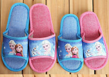 Xmas Gift Movie Frozen Elsa Anna Princess Slippers Kid Girl Boy Children 2 Style
