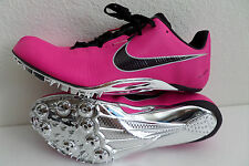 Nike Zoom JA Fly Unisex Track Spikes Pink Foil Metallic Silver 487624 650