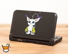 Gatomon Digimon decal sticker for Nintendo 3DS, 3DS XL, iPad and more! MA103