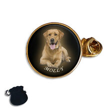 PERSONALISED, CUSTOM YOUR PHOTO, PETS, DOG  LAPEL PIN BADGE GIFT