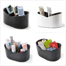 PU Leather Phone/TV Remote Control/Makeup/Cosmetic Holder Organizer Storage box