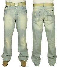 MENS BRAND NEW FBM10 DESIGNER BRANDED JEANS REDUCED PRICE FREE BELT INCLUDED