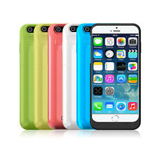 THIN EXTERNAL POWERBANK BACKUP BATTERY CHARGER CASE COVER STAND FOR NEW IPHONE 6