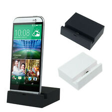 Hot Desktop Data Sync Charging Cradle Dock Station for HTC New ONE M8 So Cool