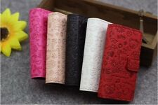 Cute Little Girl Flip Pouch Wallet Leather Cover Case For HUAWEI cell Phones