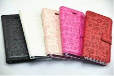 Cute Lovely Magic Girl Flip Pouch PU Leather Case Cover For SONY Cell Phones
