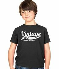 Vintage 2004 10th Birthday Childs Present Party Gift Kids Boys & Girls T-Shirt