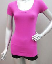 Plus Size T-shirts 1X 2X 3X Scoop-neck Cap Sleeve Cotton Spandex Stretch