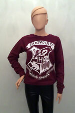 Primark Official HARRY POTTER HOGWARTS Crest Logo JUMPER SWEATSHIRT