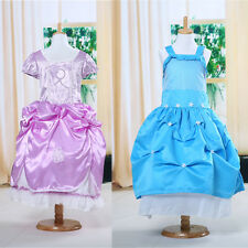 Christmas Girls Kids Princess Party Wedding Bridesmaid Fantasy Full Fancy Dress