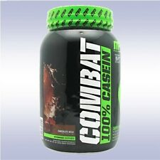 MUSCLEPHARM COMBAT 100% CASEIN (2 LB) 28g micellar protein digestive enzymes mp