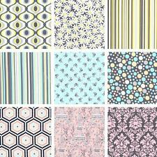 New! Michael Miller Designer Quilting Cotton Fabric Remnants - Assorted Styles
