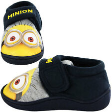Despicable Me Minion Goggles Slippers - Navy/Yellow (Sizes 6,7,8,9,10,11,12)