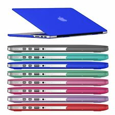 "Rubberized Hard Matte Case Keyboard Skin Cover For Macbook Pro 13"" Air 13.3 Inch"