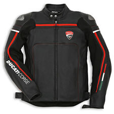 Ducati Corse '14 Perforated Leather Jacket-Black
