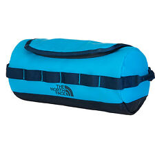 The North Face Base Camp Travel Canister Toiletry Bag Blue Wash Meridian Cosmic
