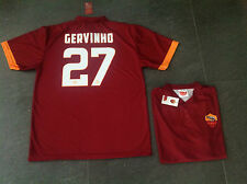 Maglia Gervinho 27 Roma Jersey Ufficiale 2014 2015 AS Roma Giallorossa Official