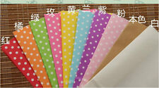 """20x Colorful Kraft Polka Dot Paper Gift Bags,Party Treat Favor Bags( 7""""x3.5""""x2"""")"""