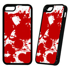 Blood Splatter Cover Case True Dexter Zombie Spartacus Death Gun  - All Phones