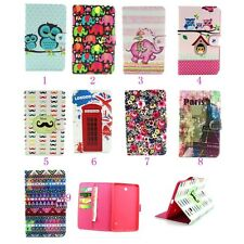 """For 2014 Samsung Galaxy Tab 4 7.0/8/8.4/10.1/10.5"""" Inch Stand Leather Case Cover"""