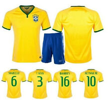 2014 Brazil football clothing soccer jerseys Men's sportswear with name & Number