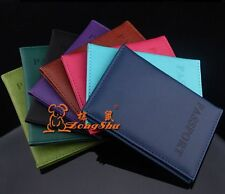 New Passport Holder Protector Cover Wallet PU Leather Cover AD151