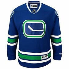 Vancouver Canucks Reebok Premier Adult Hockey Jersey - Medium or Large