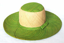 Ladies Wide Brim Straw Summer Hat - Brand New - One Size - Many Colours -