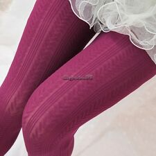 Women Comfortable Winter Fashion Footed Warm Cotton Stockings Tights Legging CaF
