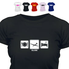 Glider Pilot Gift T Shirt Glide Daily Cycle