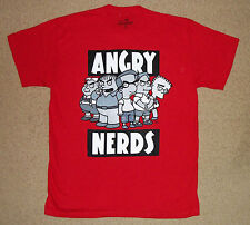 The Simpsons Angry Nerds Shirt Licensed
