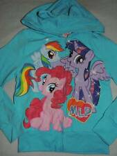 MY LITTLE PONY RAINBOW DASH PINKIE SWEATER HOODIE SIZE 4/5 6/6X 7/8 NEW!