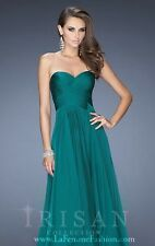 Chiffon Strapless Backless Homecoming Prom Ball Gown Long Evening Dress Skirt US
