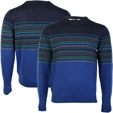 TOKYO LAUNDRY MENS CALD RIBBED HEM SOFT KNITTED LONG SLEEVED JUMPER SIZE S-XL