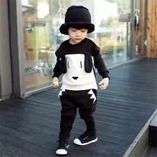 Puppy Dog Winter Baby Boy girl Sweater clothes sets Children fleece set LZ-T0331